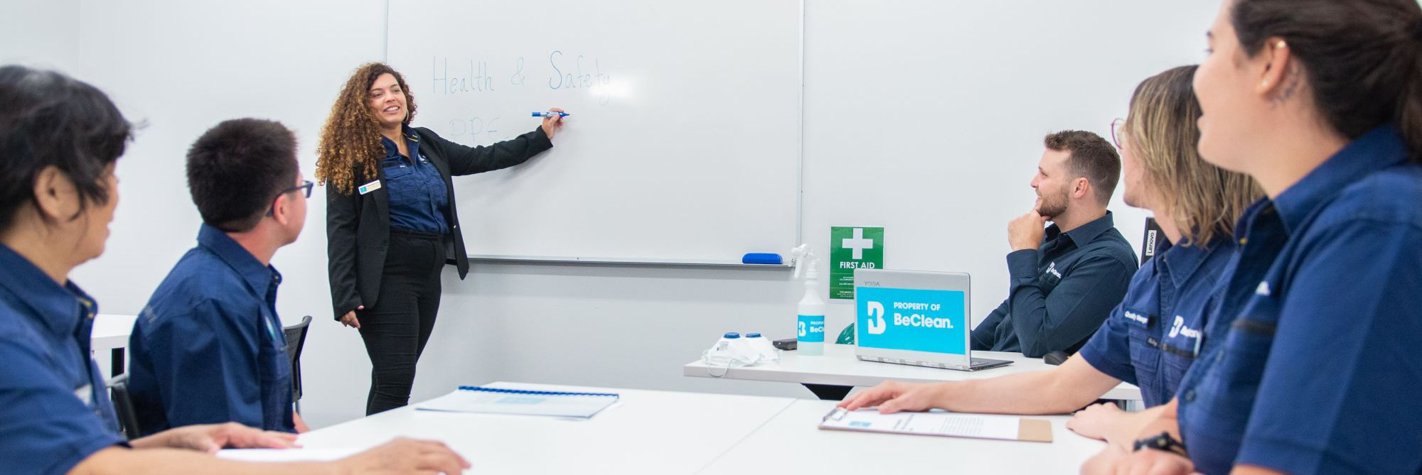BeClean invests in staff training
